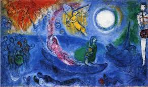 london docks chagall